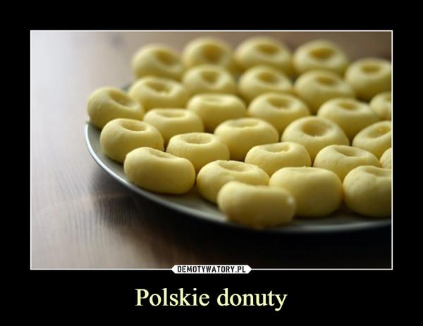 Polskie donuty –