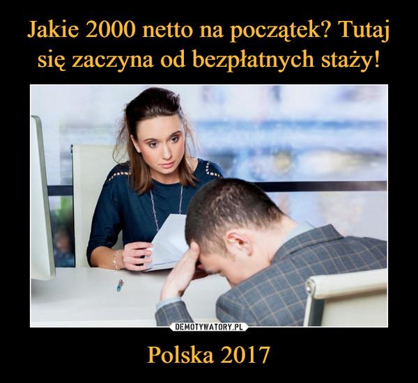 Polska 2017 –
