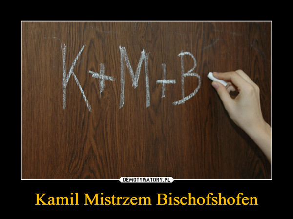 Kamil Mistrzem Bischofshofen –