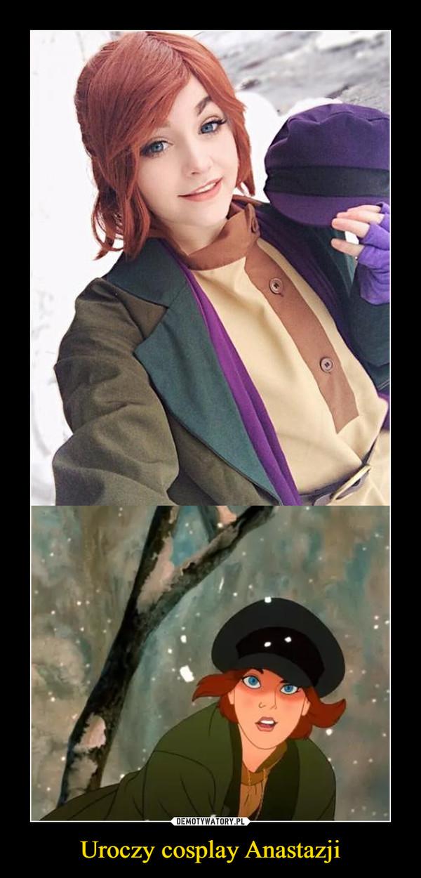 Uroczy cosplay Anastazji –