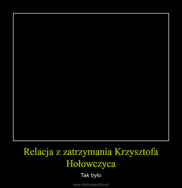 Relacja z zatrzymania Krzysztofa Hołowczyca – Tak było