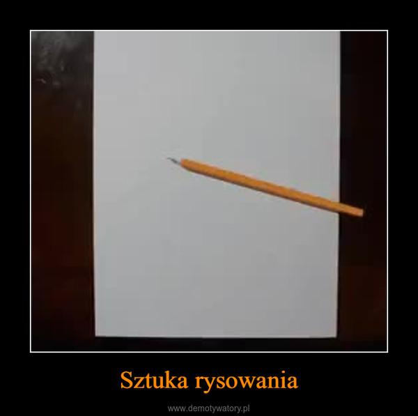 Sztuka rysowania –