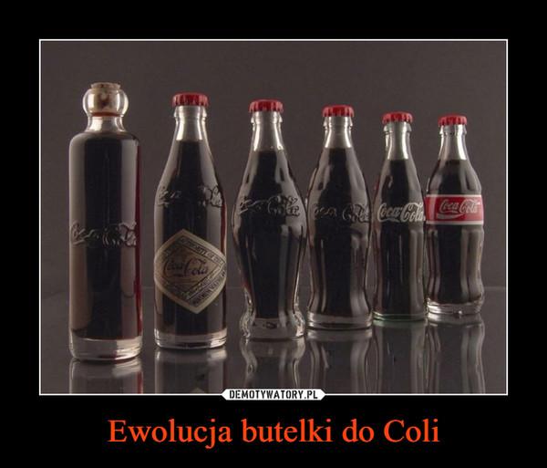 Ewolucja butelki do Coli –
