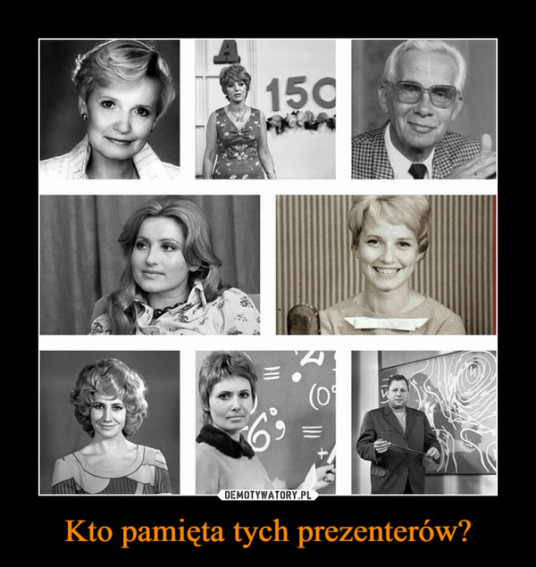 Kto pamięta tych prezenterów? –