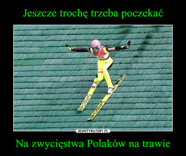Na zwycięstwa Polaków na trawie –