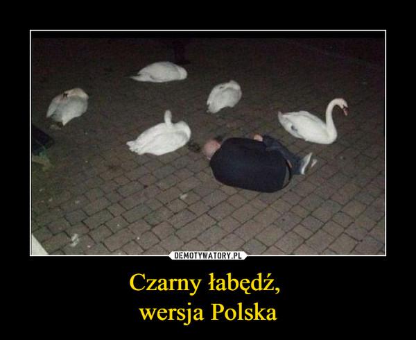 Czarny łabędź, wersja Polska –