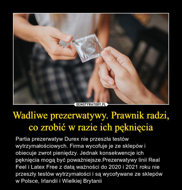 słabe czucie w prezerwatywie