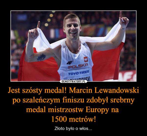 Jest szósty medal! Marcin Lewandowski po szaleńczym finiszu zdobył srebrny medal mistrzostw Europy na 1500 metrów! – Złoto było o włos...