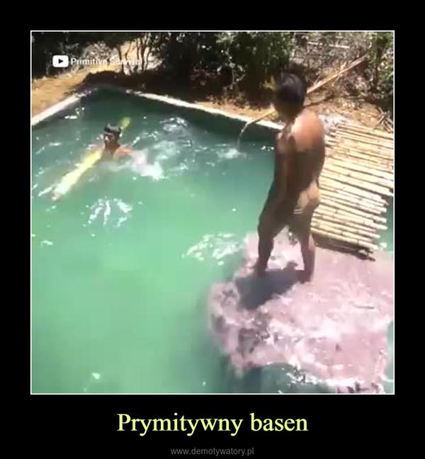 Prymitywny basen –