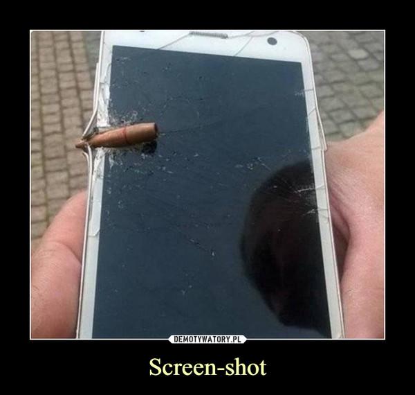 Screen-shot –