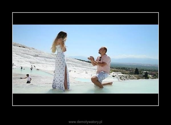 Zaręczyny w Pamukkale –