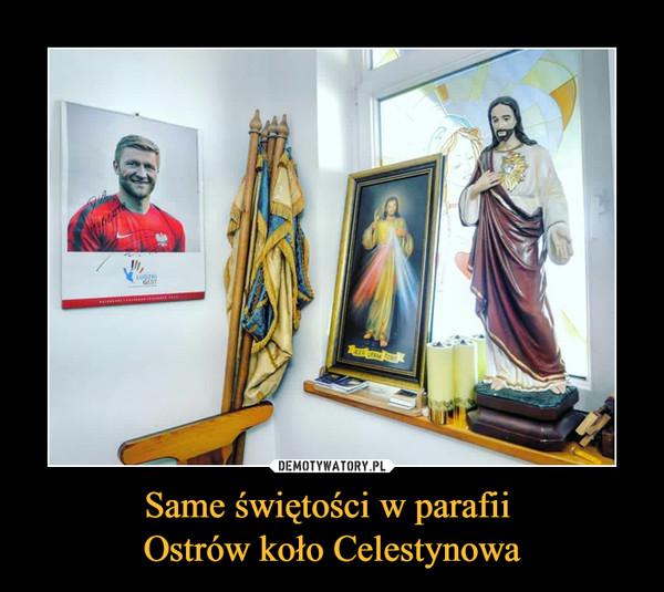 Same świętości w parafii Ostrów koło Celestynowa –