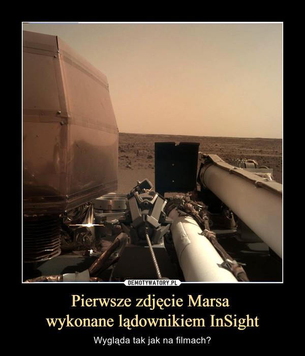 Pierwsze zdjęcie Marsa wykonane lądownikiem InSight – Wygląda tak jak na filmach?