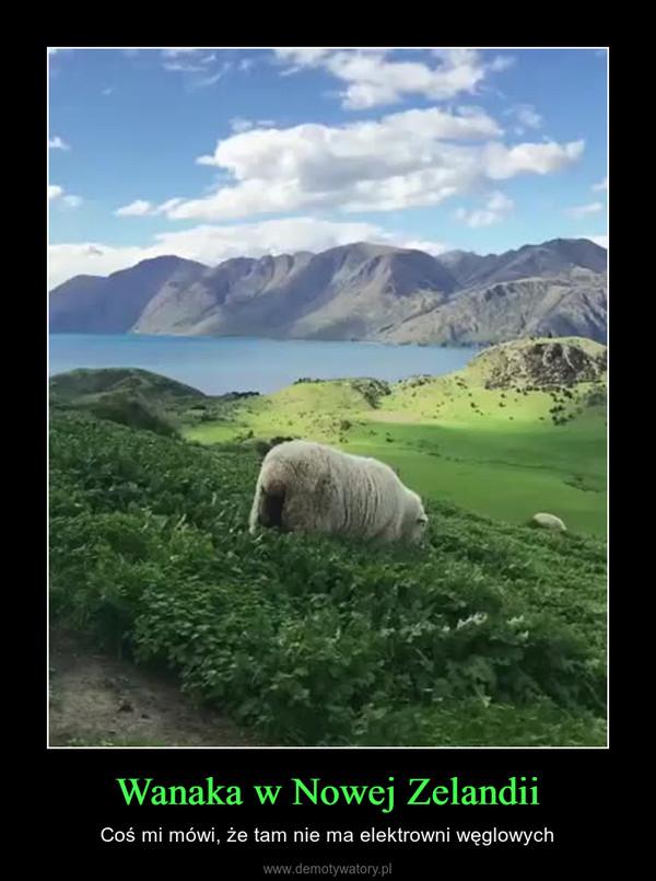Wanaka w Nowej Zelandii – Coś mi mówi, że tam nie ma elektrowni węglowych