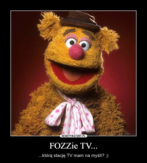 FOZZie TV... – ...którą stację TV mam na myśli? ;)