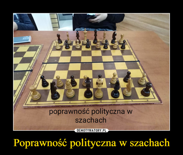 Poprawność polityczna w szachach –