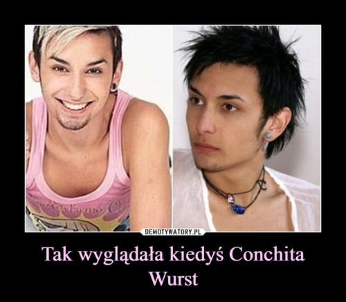 Tak wyglądała kiedyś Conchita Wurst