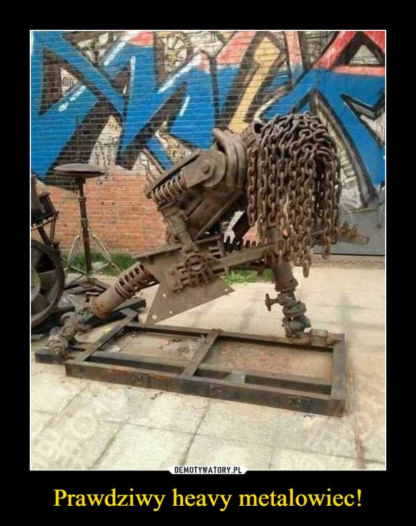 Prawdziwy heavy metalowiec! –