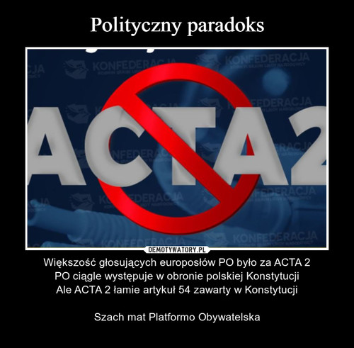 Polityczny paradoks