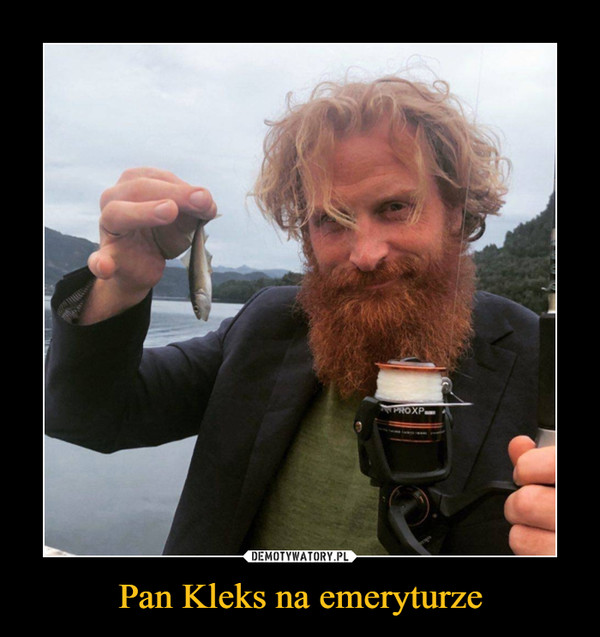 Pan Kleks na emeryturze –