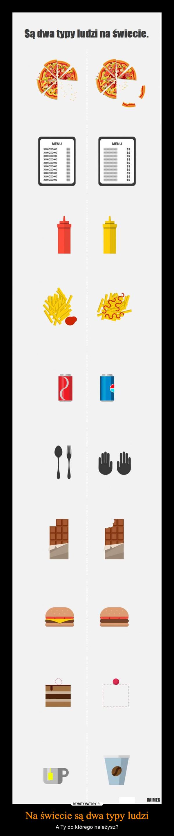 Na świecie są dwa typy ludzi – A Ty do którego należysz?