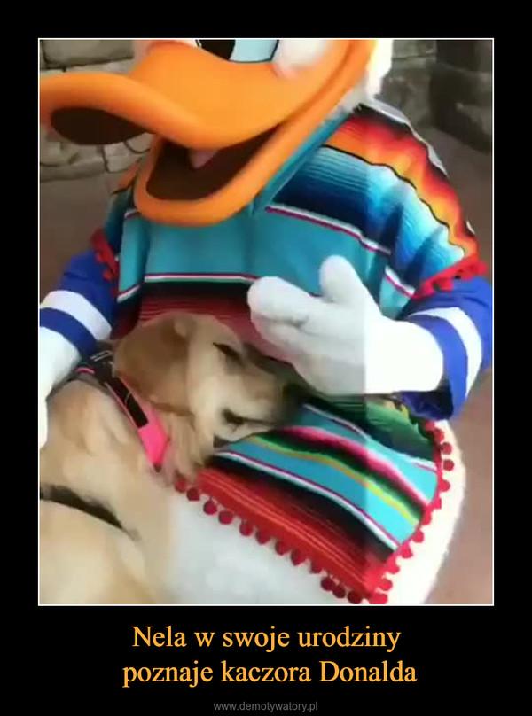Nela w swoje urodziny poznaje kaczora Donalda –