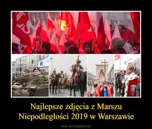 Najlepsze zdjęcia z Marszu Niepodległości 2019 w Warszawie