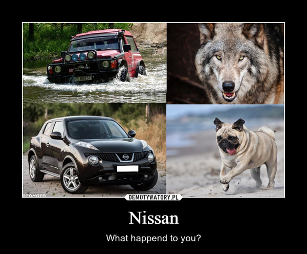 Nissan – What happend to you?