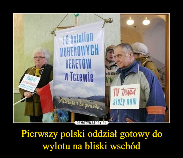 Pierwszy polski oddział gotowy do wylotu na bliski wschód –  18 batalion MOHEROWYCH BERETÓW w Tczewie