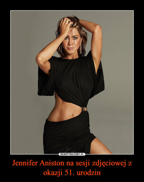 Jennifer Aniston na sesji zdjęciowej z okazji 51. urodzin