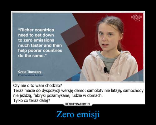 Zero emisji
