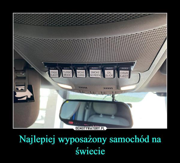 Najlepiej wyposażony samochód na świecie –