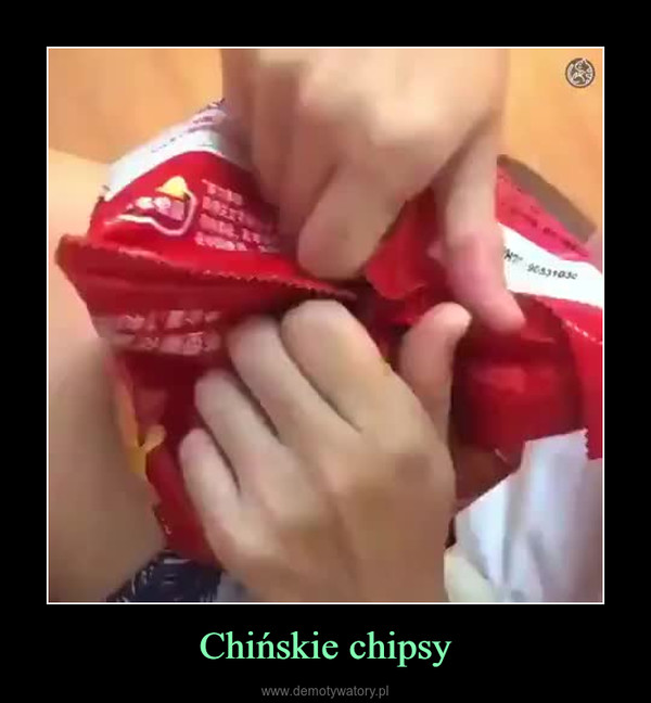 Chińskie chipsy –