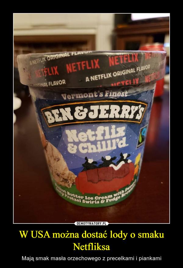 W USA można dostać lody o smaku Netfliksa – Mają smak masła orzechowego z precelkami i piankami