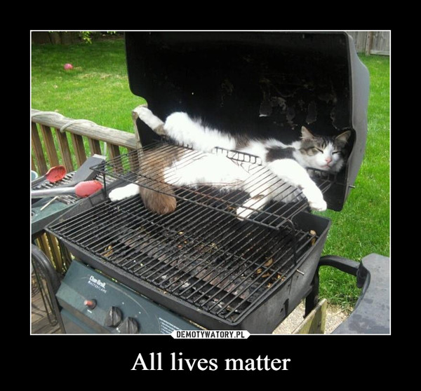 All lives matter –