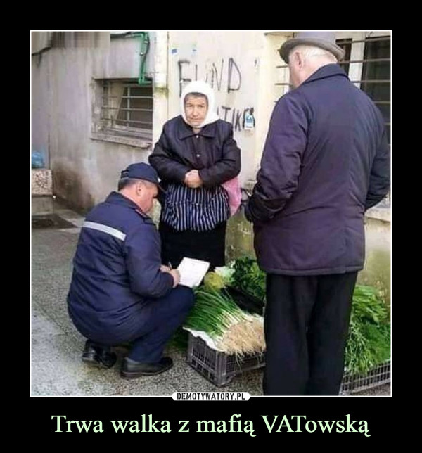 Trwa walka z mafią VATowską –
