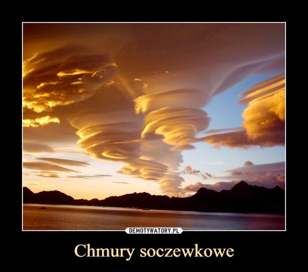 Chmury soczewkowe –
