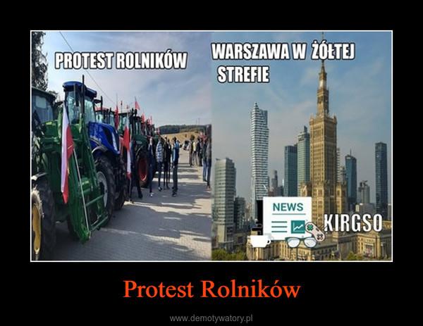 Protest Rolników –