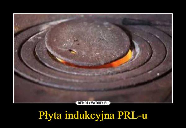 Płyta indukcyjna PRL-u –