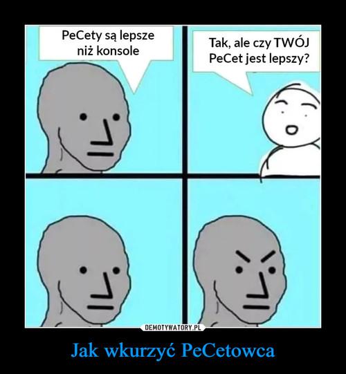 Jak wkurzyć PeCetowca