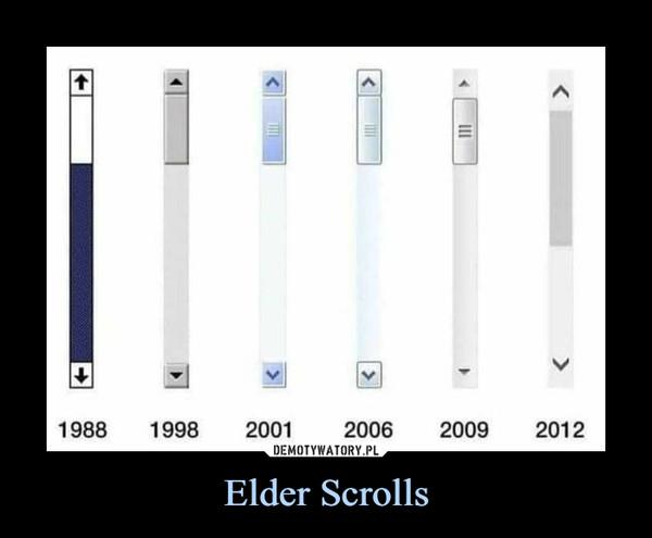 Elder Scrolls –