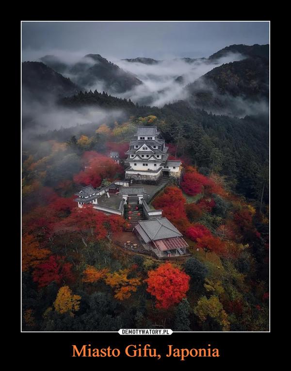 Miasto Gifu, Japonia –