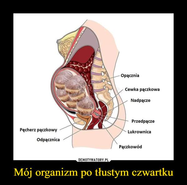 Mój organizm po tłustym czwartku –