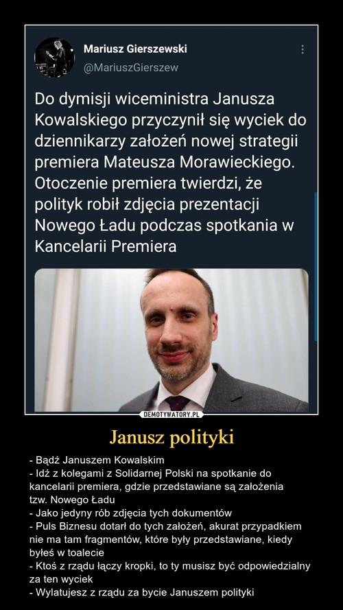 Janusz polityki