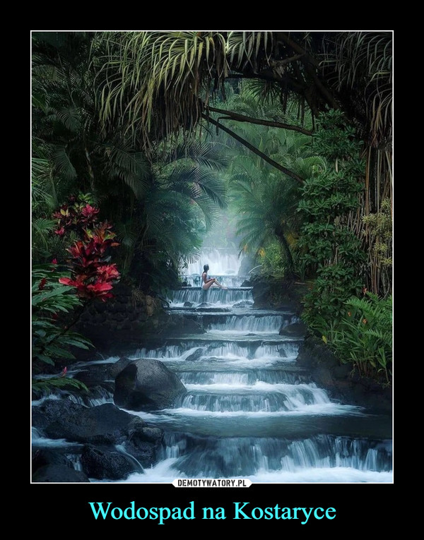Wodospad na Kostaryce –