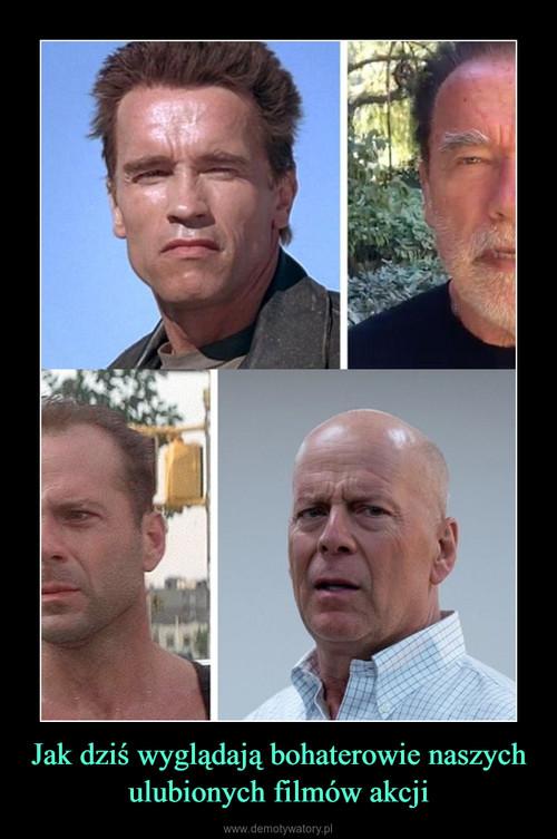 Jak dziś wyglądają bohaterowie naszych ulubionych filmów akcji