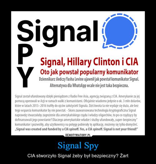 Signal Spy