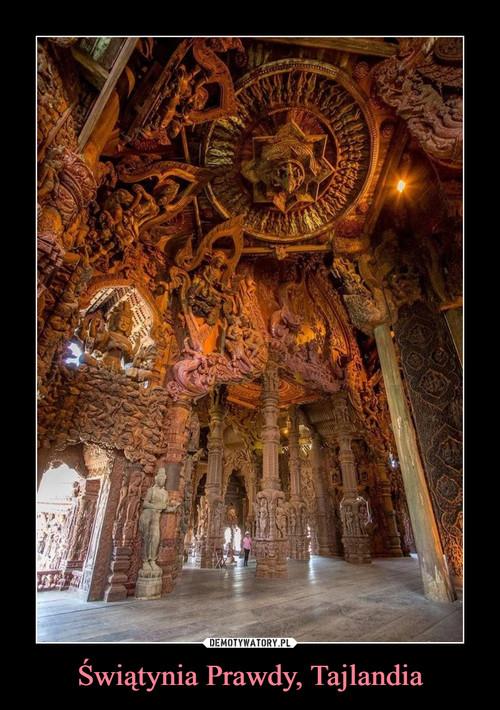 Świątynia Prawdy, Tajlandia