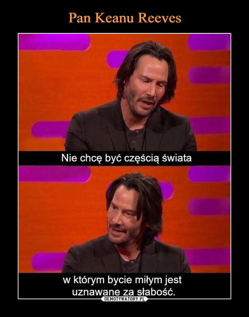 Pan Keanu Reeves