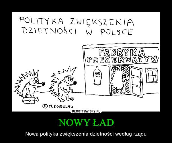 NOWY ŁAD – Nowa polityka zwiększenia dzietności według rządu